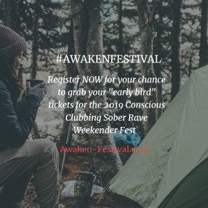 conscious clubbing & sober raving weekender fest
